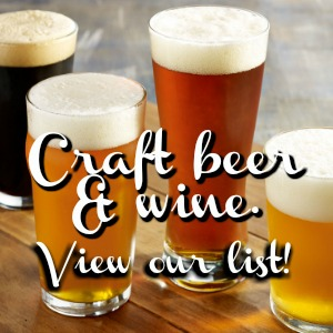 Craft Beer & Wine