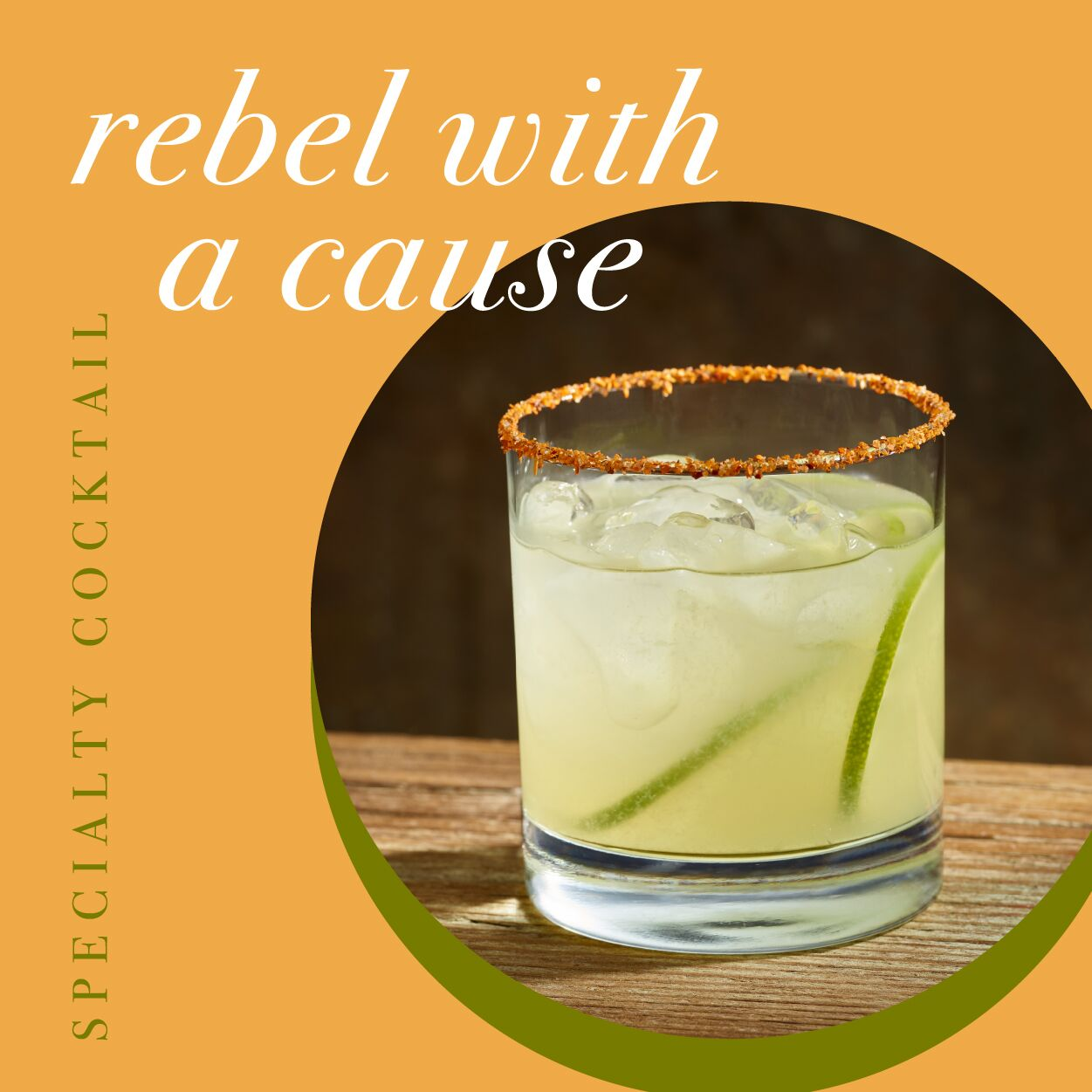 Signature Cocktail - Rebel with a Cause - Cal Oaks