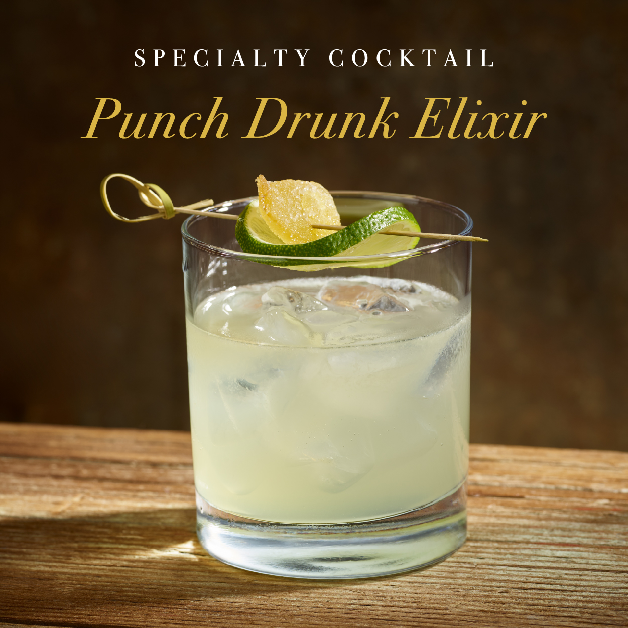 Signature Cocktail - Punch Drunk Elixir - Cult Classics