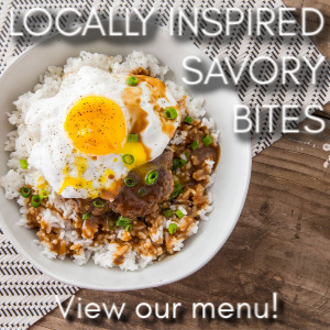 Locally Inspired Menu