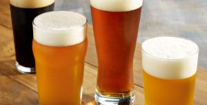 CRAFT BEER & WINE, an item offered on the food and drink menu