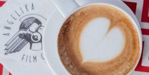 CAFÉ BEVERAGES & BITES:, an item offered on the food and drink menu