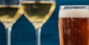 BEER & WINE, an item offered on the food and drink menu