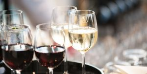 Select Wine, an item offered on the food and drink menu