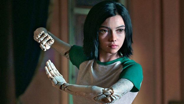 "Movie poster image for ""ALITA: BATTLE ANGEL"""