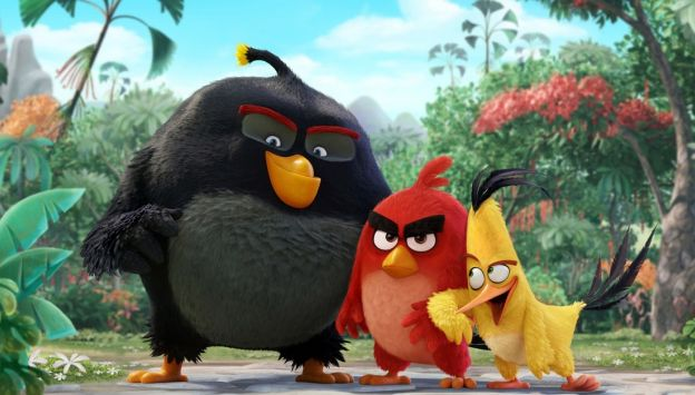 "Movie poster image for ""THE ANGRY BIRDS MOVIE"""