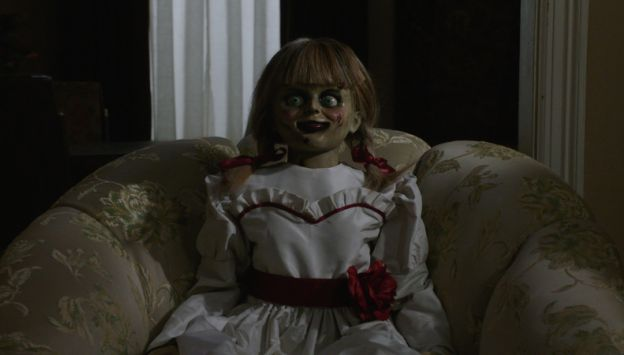 """Movie poster image for """"ANNABELLE COMES HOME in IMAX"""""""