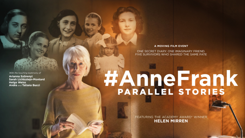 "Movie poster image for ""#ANNEFRANK PARALLEL STORIES"""
