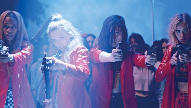 "Movie poster image for ""ASSASSINATION NATION"""