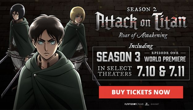 "Movie poster image for ""ATTACK ON TITAN SEASON 3 EPISODE 1"""