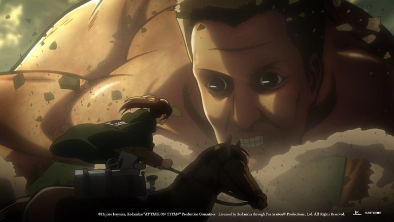 "Movie poster image for ""ATTACK ON TITAN PART 1 - GUREN NO YUMIYA """