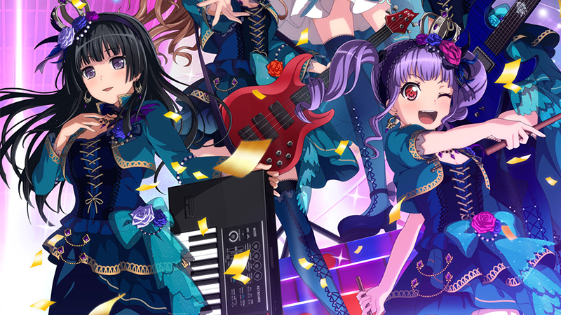 "Movie poster image for ""BANG DREAM! 5TH☆LIVE / ROSELIA -EWIGKEIT-"""