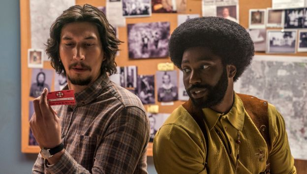 "Movie poster image for ""BLACKkKLANSMAN"""