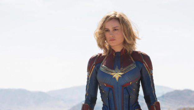 "Movie poster image for ""CAPTAIN MARVEL"""