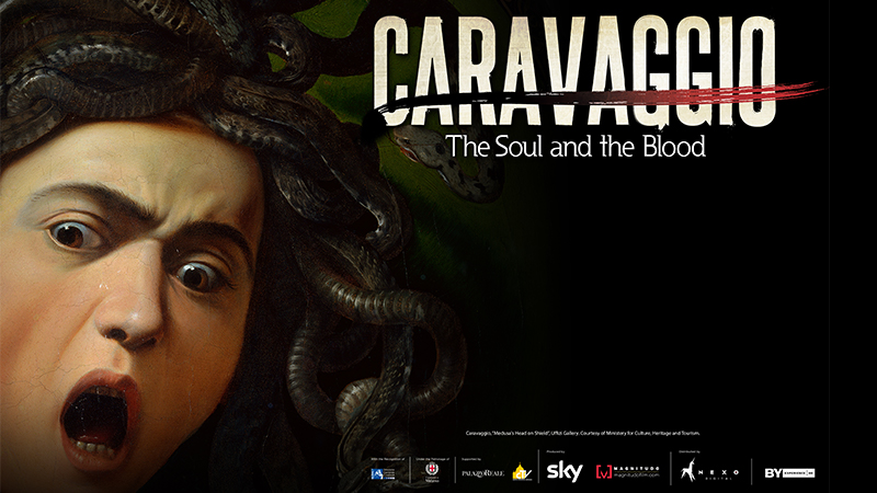 "Movie poster image for ""GREAT ART ON SCREEN: CARAVAGGIO: THE SOUL AND THE BLOOD"""
