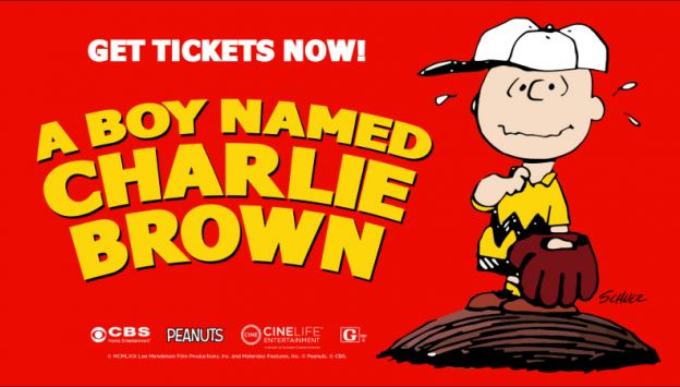 "Movie poster image for ""A BOY NAMED CHARLIE BROWN - 5OTH ANNIVERSARY"""