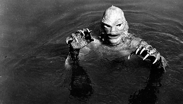 "Movie poster image for ""CREATURE FROM THE BLACK LAGOON in 35MM 3D"""