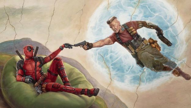 "Movie poster image for ""DEADPOOL 2"""