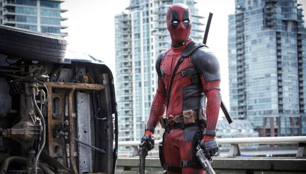 "Movie poster image for ""DEADPOOL"""