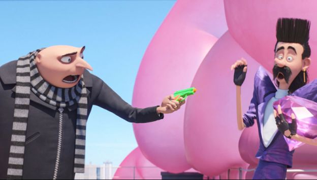"""Movie poster image for """"DESPICABLE ME 3 - $1 Summer Films"""""""