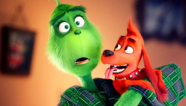 """Movie poster image for """"DR. SEUSS' THE GRINCH"""""""