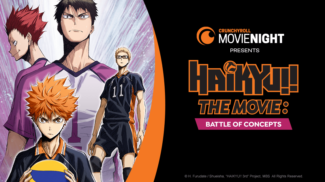 "Movie poster image for ""HAIKYU! THE MOVIE: BATTLE OF CONCEPTS"""