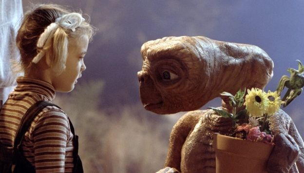 "Movie poster image for ""E.T. THE EXTRA-TERRESTRIAL"""