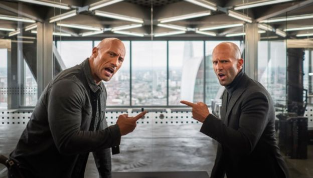 """Movie poster image for """"FAST & FURIOUS PRESENTS: HOBBS & SHAW in IMAX"""""""