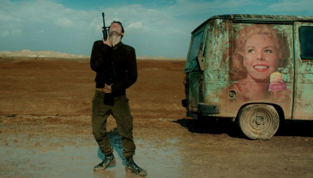 "Movie poster image for ""FOXTROT"""