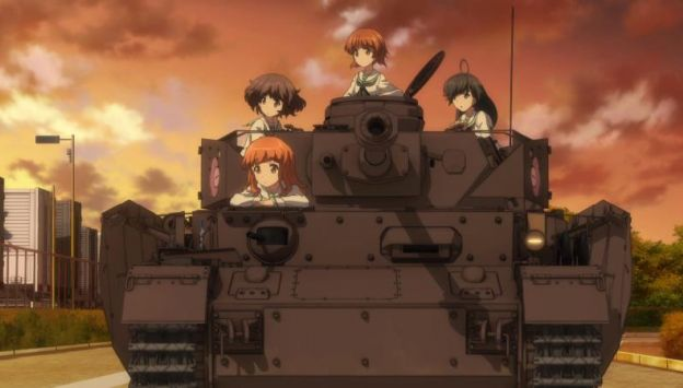 "Movie poster image for ""GIRLS UND PANZER DER FILM"""