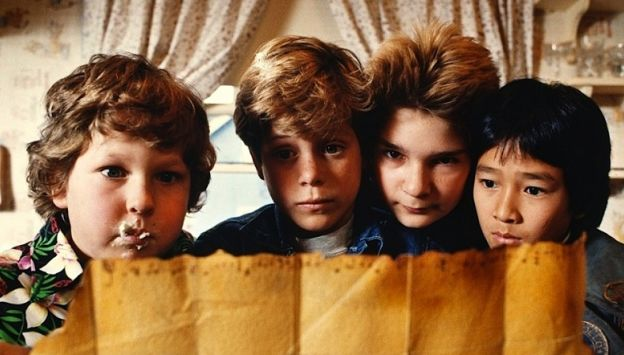 "Movie poster image for ""THE GOONIES"""