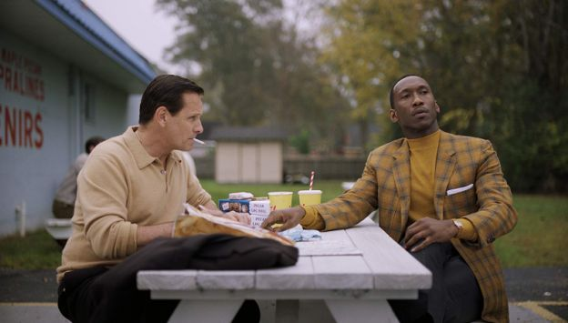 "Movie poster image for ""GREEN BOOK"""