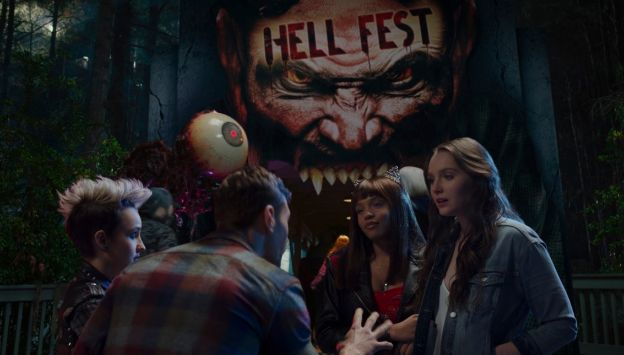 "Movie poster image for ""HELL FEST"""