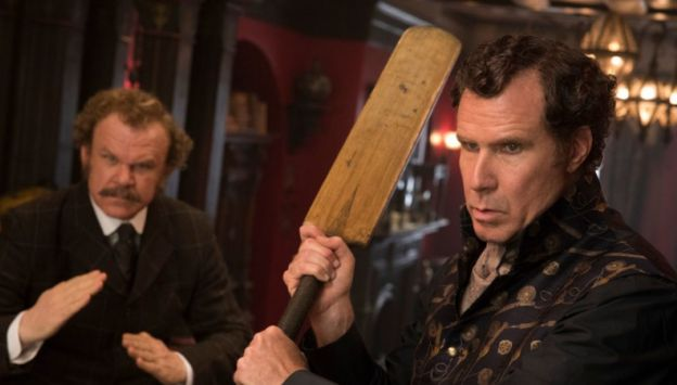 "Movie poster image for ""HOLMES AND WATSON"""