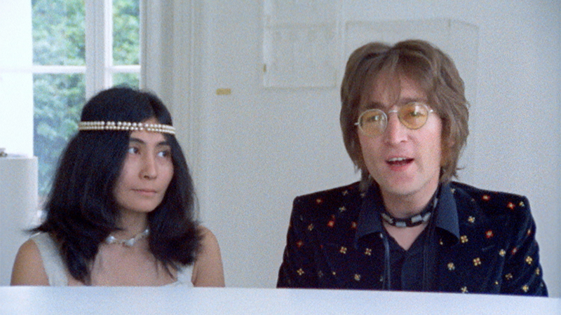 "Movie poster image for ""JOHN & YOKO'S IMAGINE"""