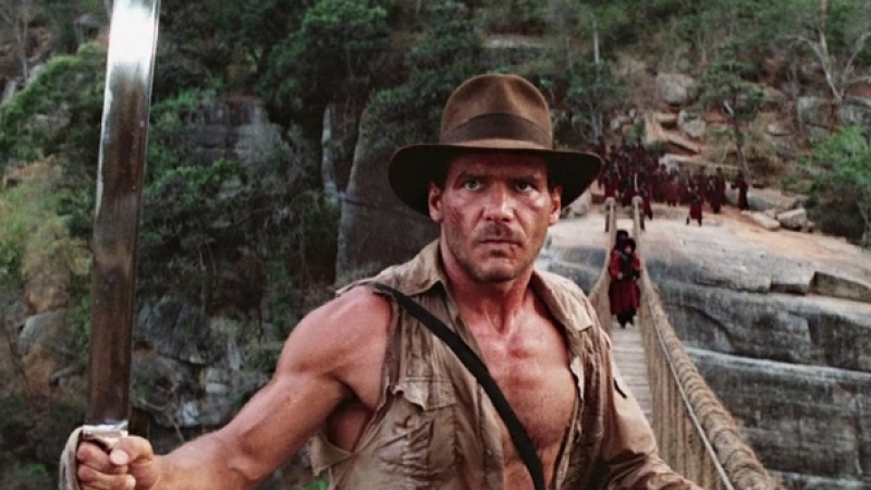 Movie poster image for INDIANA JONES AND THE TEMPLE OF DOOM
