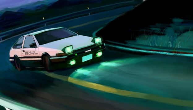 "Movie poster image for ""INITIAL D PART 3"""