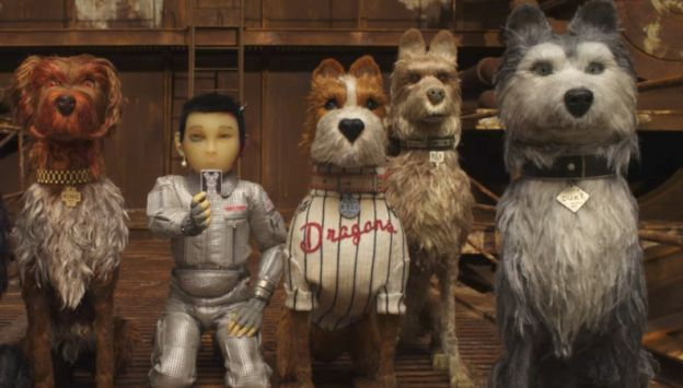 "Movie poster image for ""ISLE OF DOGS"""