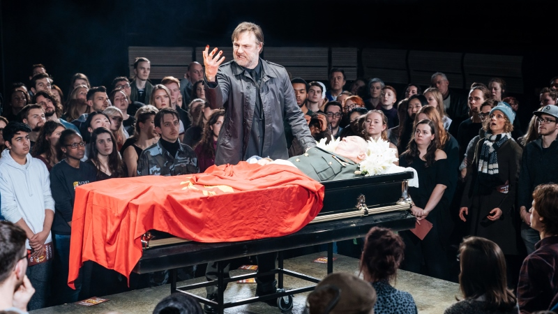 "Movie poster image for ""NATIONAL THEATRE LIVE - JULIUS CAESAR"""