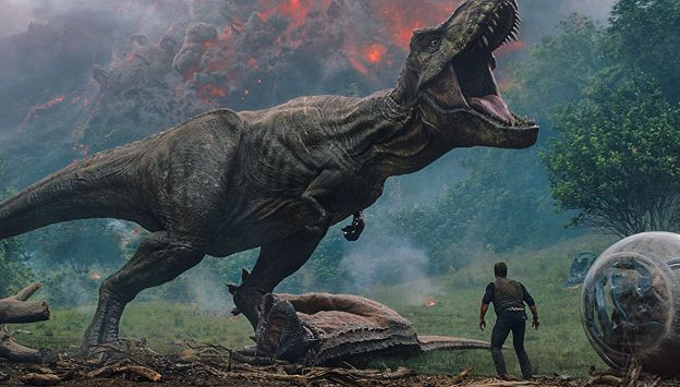 "Movie poster image for ""JURASSIC WORLD: FALLEN KINGDOM"""
