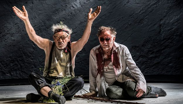 "Movie poster image for ""NATIONAL THEATRE LIVE: KING LEAR"""