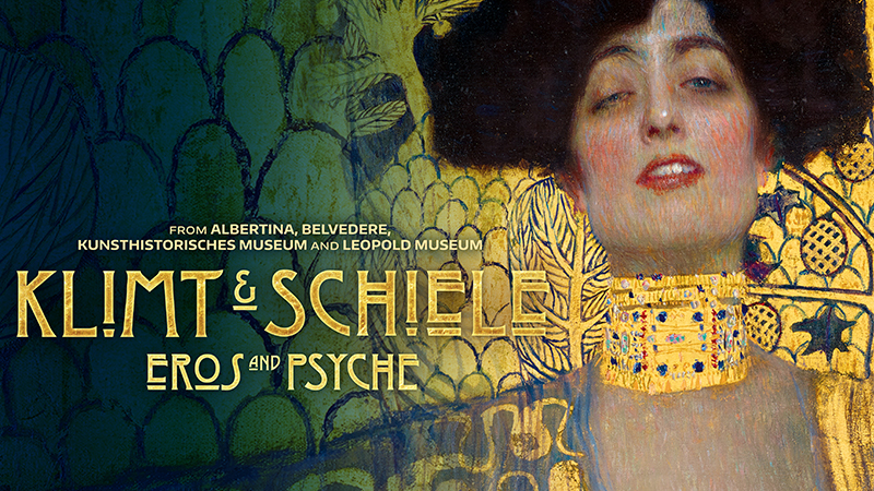 Movie poster image for GREAT ART ON SCREEN: KLIMT & SCHIELE:  EROS AND PSYCHE
