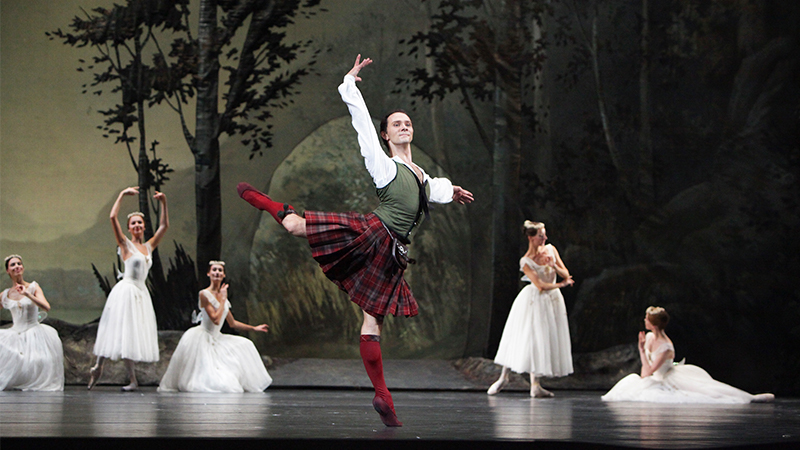 "Movie poster image for ""BOLSHOI BALLET: LA SYLPHIDE"""
