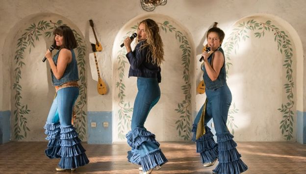 "Movie poster image for ""MAMMA MIA! HERE WE GO AGAIN"""