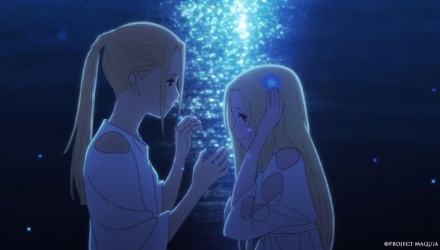 "Movie poster image for ""MAQUIA: WHEN THE PROMISED FLOWER BLOOMS"""