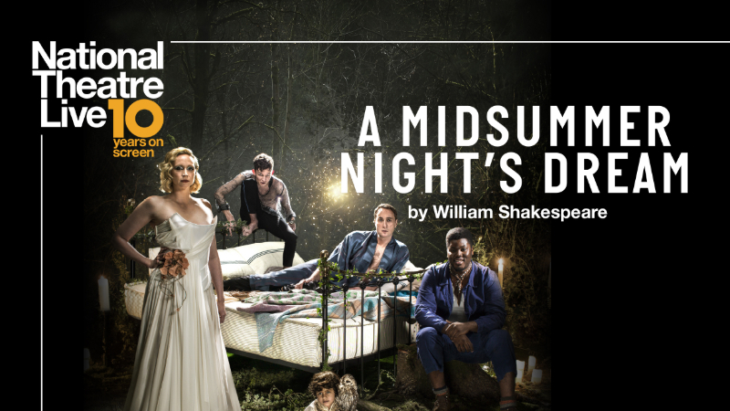 "Movie poster image for ""National Theatre Live: A MIDSUMMER NIGHT'S DREAM"""