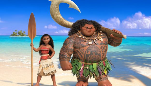 "Movie poster image for ""MOANA -CONSOLIDATED 100"""