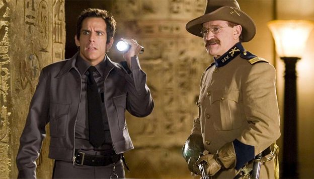"Movie poster image for ""NIGHT AT THE MUSEUM"""
