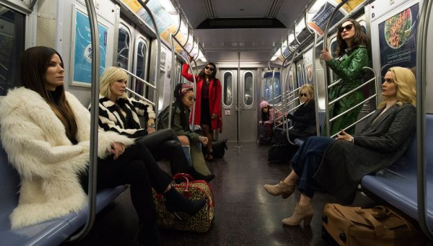"""Movie poster image for """"OCEAN'S 8 IN IMAX"""""""