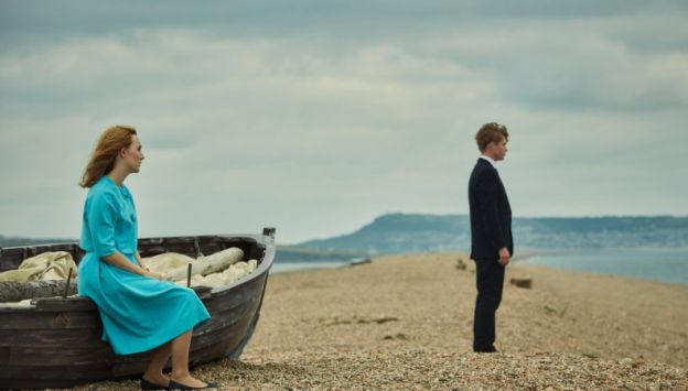 "Movie poster image for ""ON CHESIL BEACH"""